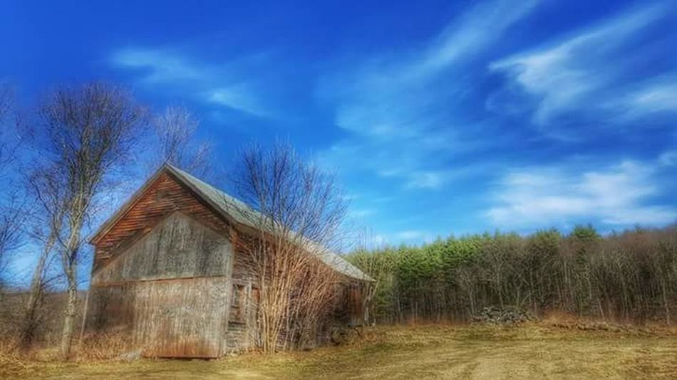 Our beautiful barn Photography Blue Colors Barn, Sky, Black And White, Farm, Farming, Field, Cloud, Clouds,