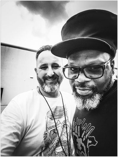 Monochrome Black & White Black And White Blackandwhite Jazzie B Soul II Soul Self Portrait Selfies Vibes On A Summers Day Sydney Festival Music Festival Backstage
