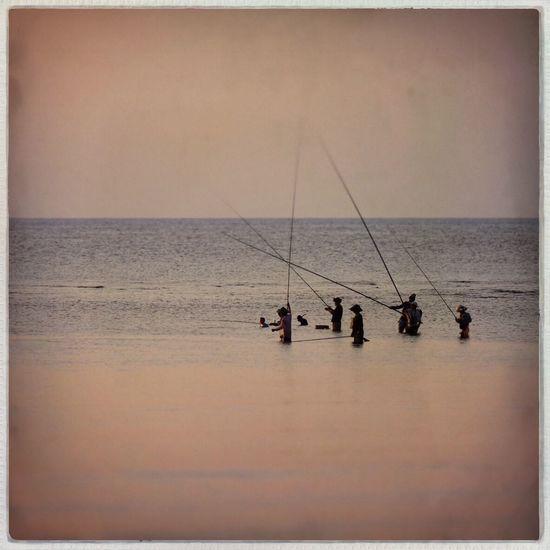 Fishermen, Lombok, Indonesia Fishing Travel