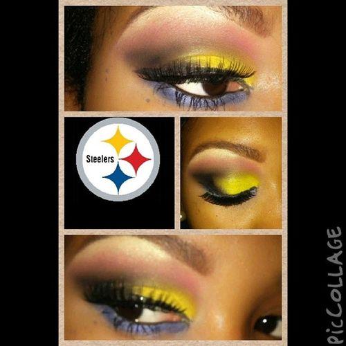 @Steelers Steelers Pittsburgsteelers Bigben Eyemakeup bhcosmetics. @bhcosmetics mac mua nc45 gifted a_makeup_snob