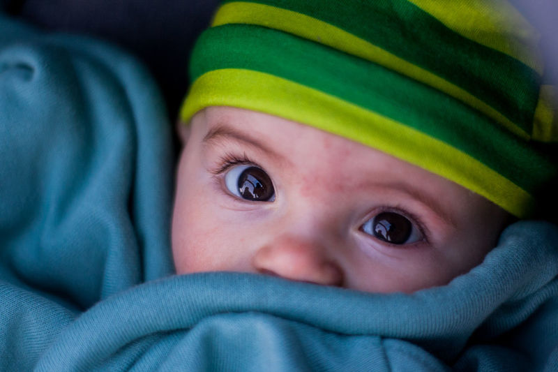 Babyhood Blue Eyes Childhood Close-up Cute Day Fragility Human Body Part Human Eye Indoors  Langbart Looking At Camera One Person People Portrait Real People EyeEmNewHere Press For Progress