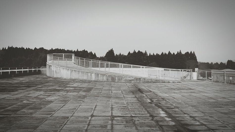 Japan Kumamoto Yamaga Museum Architecture Tadao Ando Holiday Black & White