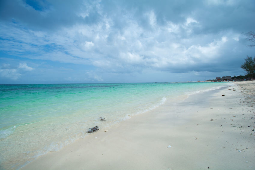 Tranquility Zanzibar Beach Blue Sky Blue Water No People Ocean White Sand