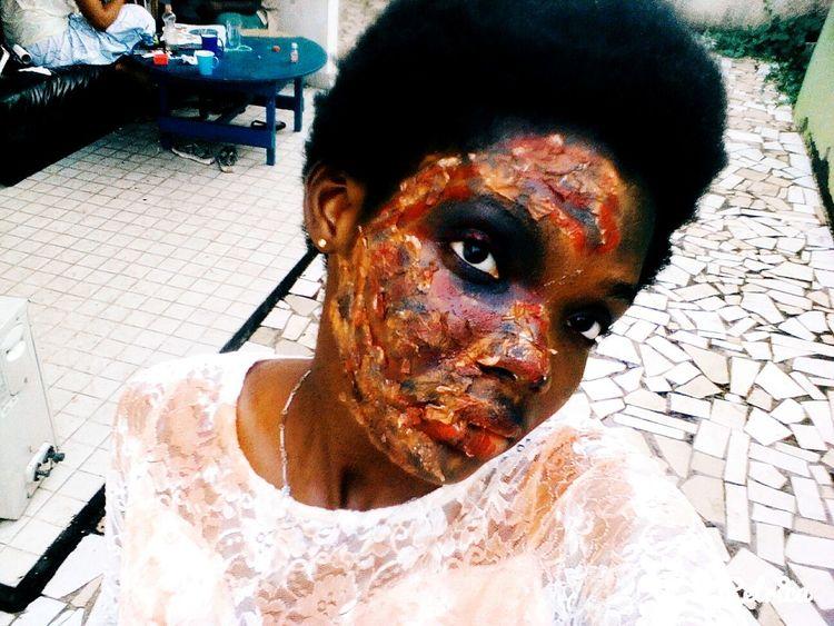 Horror make me happy Happy Halloween Halloween Horrors Happy Halloween! Halloween makeup make by me Halloweenmakeup Halloween EyeEm Halloween2015