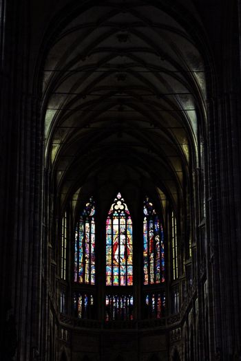 Prague Religion Spirituality Arch Window Architecture
