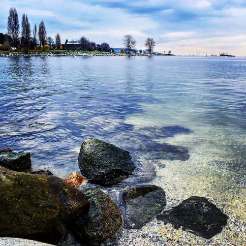 Beach Water Sea Nature Outdoors Tree Vacations Day Sky Tranquility No People Landscape Cloud - Sky Beauty In Nature Sunset Travel Destinations Scenics Low Tide Canada Photos Vancouver