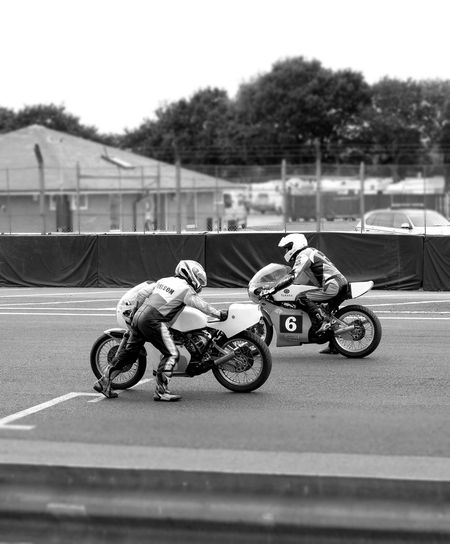 Black And White Photography monochrome photography On The Grid Biker Sports Race Men Extreme Sports Motorsport Motorcycle Skill  Sports Track