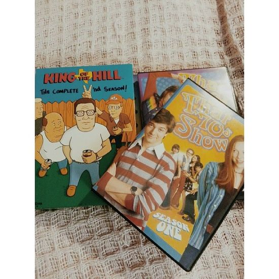 Watching these are tonight KingOfTheHill Bobby Boomhauer That70sshow sitcoms