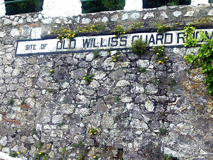 Old Road Sign Gibraltar Gibraltar Rock Text Western Script Communication Day Capital Letter Outdoors No People Close-up Nature Wall Wall - Building Feature Old Old Wall City Walls Gibraltar City Walls