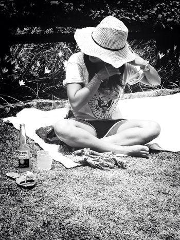 Ramones Corona Outdoors Enjoying Life