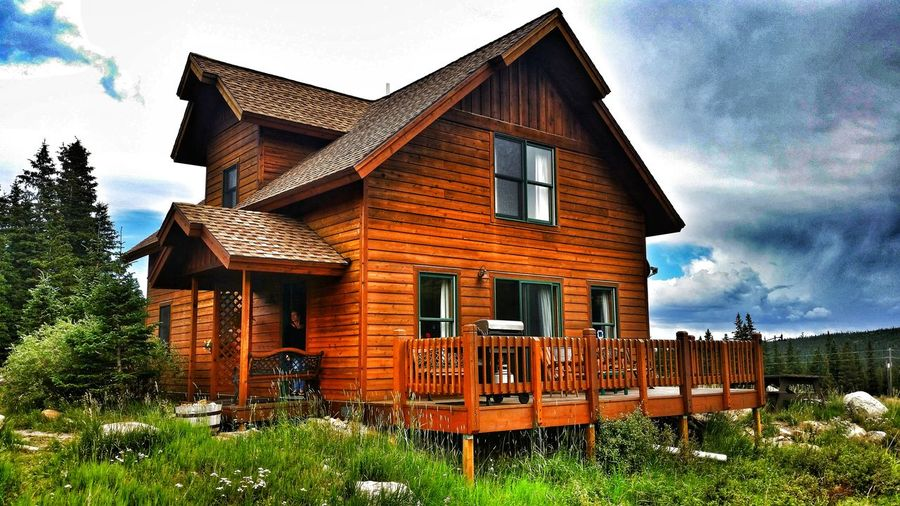 11,000' above sea level. Valley Of The Sun EyeEm Selects Fairplay Park County Mosquito Range Cabin 11k Big Mountains Colorado Mountians Colorado Photography Mountain Cabin Timberline Cabin Building Exterior Architecture Built Structure House Outdoors Day Cloud - Sky No People Tree Grass Sky EyeEm Ready   EyeEmNewHere