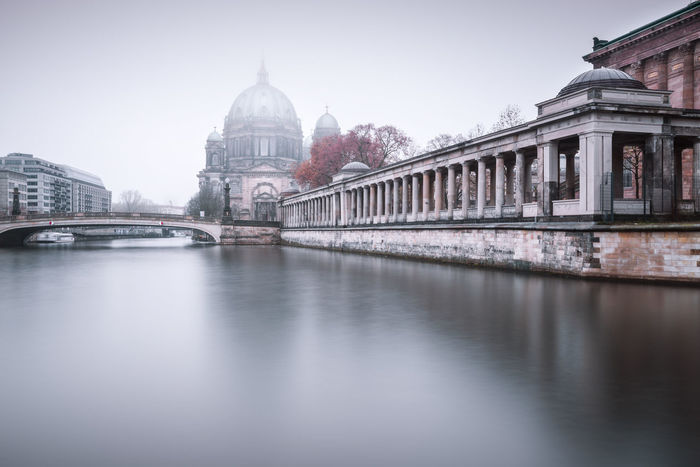 Berlin Cathedral on a cold and foggy december morning Berlin Cathedral Berlin City Berlin Germany Berliner Dom Clinical Atmosphere Cloudy Day Cold Days Copyspace Fine Art Photograhy Foggy Morning Germany International Landmark Longexposure Misty Morning Museuminsel Muted Colors Nobody Philipp Dase Sightseeing Spree River Travel Destination Urban Icon Winter Mood Discover Berlin The Traveler - 2018 EyeEm Awards