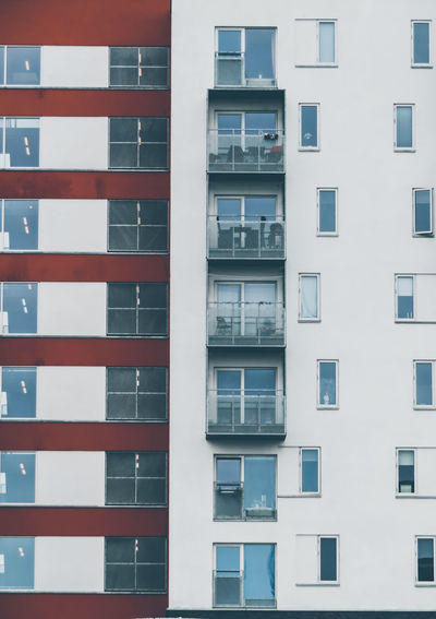 City Window Apartment Residential Building Architecture Building Exterior Built Structure Full Frame Backgrounds Repetition LINE The Architect - 2019 EyeEm Awards