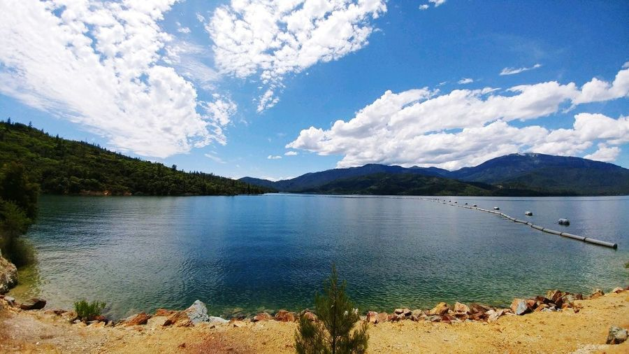 Whiskeytown Lake In Shasta County Lake View Beautiful Lake And Mountain Beautiful Lake With Mountains And Snow Mountain With Snow Fishing Lake