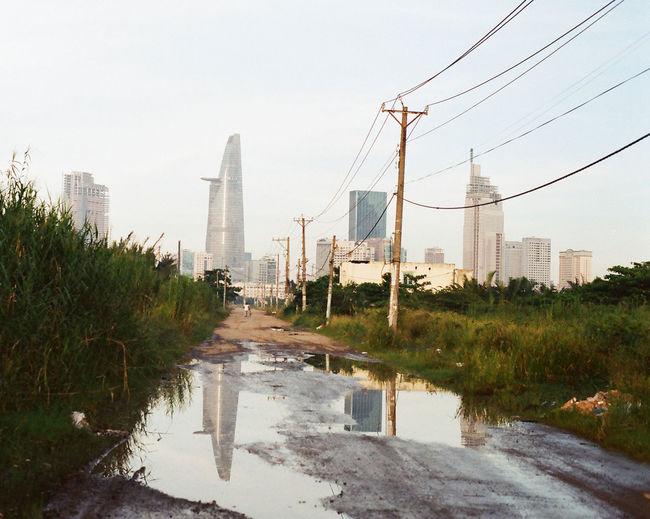 Bitexcotower Construction Development Outdoors Perspective Saigon The Way Forward Thu Thiem Tower