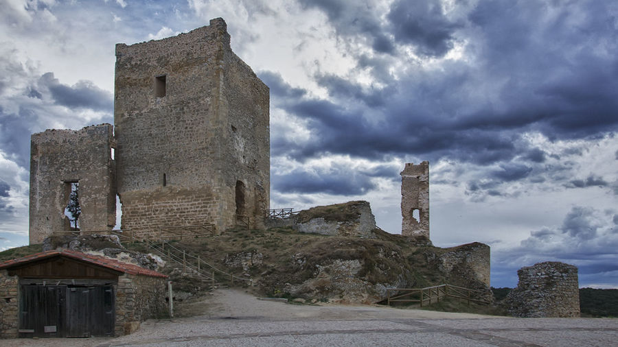 Architecture Calatañazor Castel Castillo Castillo De Calatañazor History Soria