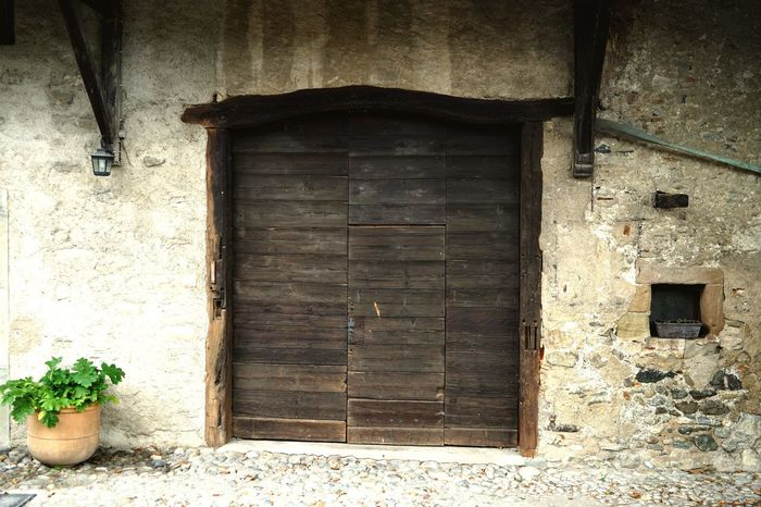 Architecture Door Built Structure House Entrance Wood - Material Building Exterior Day No People Window Outdoors Open Door History Historical Building Historic Landscape Yvoire, France Yvoire Landscape_Collection Landscape_photography EyeEm Best Shots - Landscape Doorway