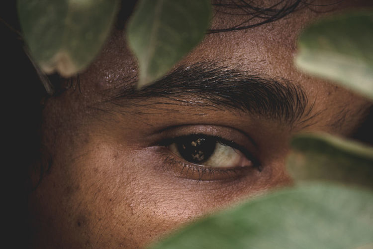 Adult Body Part Close-up Eye Eyebrow Front View Headshot Human Body Part Human Eye Human Face Human Hair Looking At Camera Men Mid Adult One Person Plant Part Portrait Real People Selective Focus Young Adult Young Men A New Beginning A New Perspective On Life