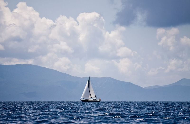 Bodrum Turkey Sea Sky Sailing Blue