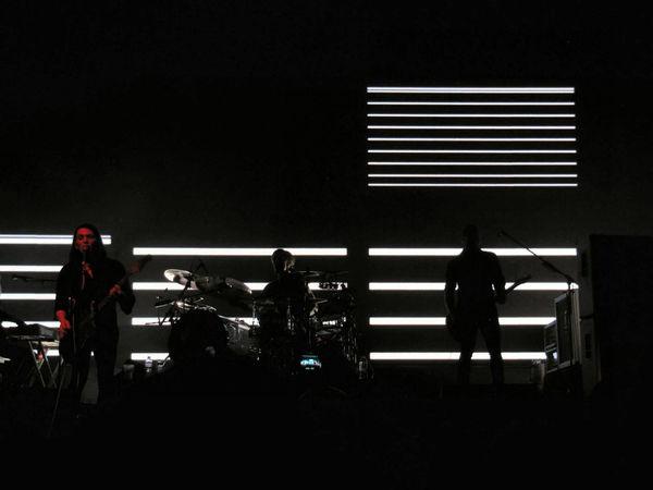 Brian Molko Concert Fun Illuminated Leisure Activity Music Night Placebo