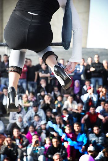 Circus Flying Fly Travel Awsome Love Sensual_woman Women Circus Group Of People Crowd Real People Arts Culture And Entertainment Adult Mid-air #NotYourCliche Love Letter