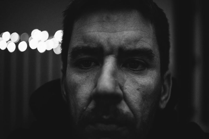 Older by the minute Headshot Portrait One Person Front View Real People Looking At Camera Indoors  Lifestyles Men Close-up Human Body Part Human Face Serious Adult