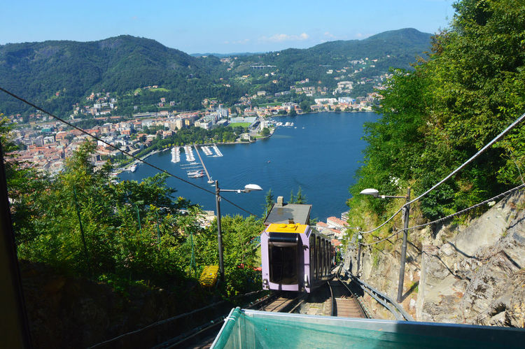 Como Como City Como City Como Lake Como Lake,Italy Comolake Day Forest Photography Funicular Funicular Cabin Funicular Railway Funicular Station Funiculartrain Italia Italy Italy❤️ Lake View Nature No People Outdoors Point Of View Sky Tree Viewpoint Viewpoints EyeEmNewHere Adapted To The City