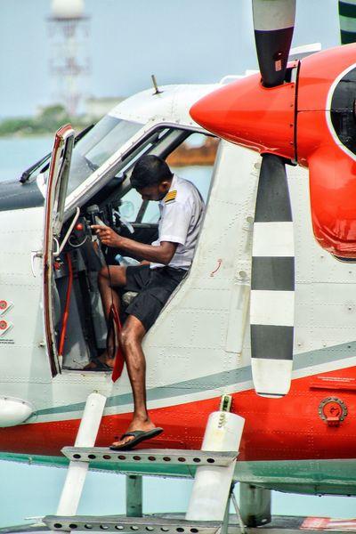 Aircraft Hydroplane Pilot Cool Work Transportation Working Maldives Nautical Vessel Dream Work