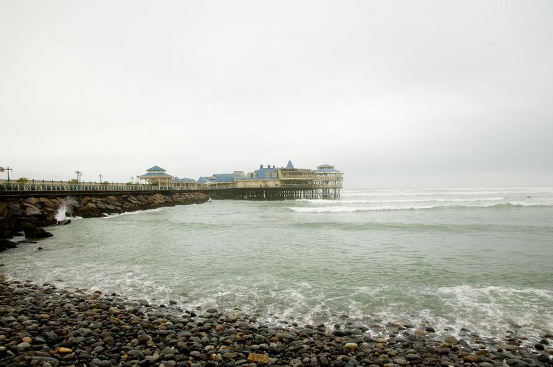 Pampilla Beach Pampilla Beach Lima Peru Miraflores