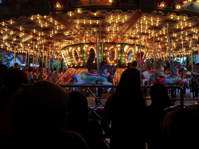 Round and round like a horse on a carousel Finding New Frontiers ModernJakarta EyeEm Best Shots EyeEm Best Edits Random Check This Out Melanie Martinez Carousel Holiday Lights Vacations