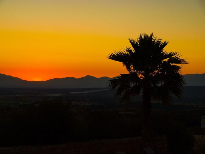 Sunset in Spain
