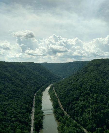 Rural Scene Landscape Cloud - Sky Nature Scenics Beauty In Nature Day Outdoors Tranquility Sky Growth Tree NewRiverGorge WestVirginiaMountains