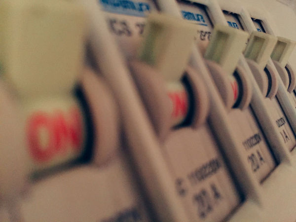 Breaker Check Circuit Breaker Close-up Depth Of Field Indoor Indoors  Lifestyles NEM Still Life Noisy Off Old On Out Of Focus Power Power Lines Power Source Room Safety Selective Focus Still Life Super Retro Switch Trouble Vintage