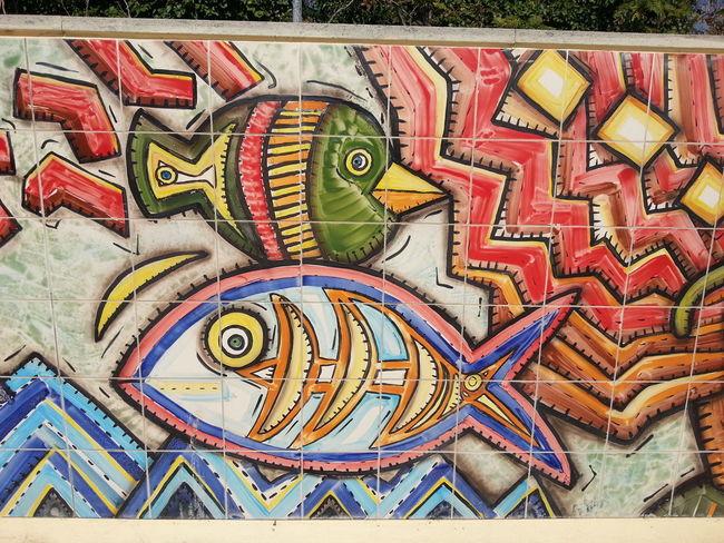 Street Art Ceramic Art Albissola