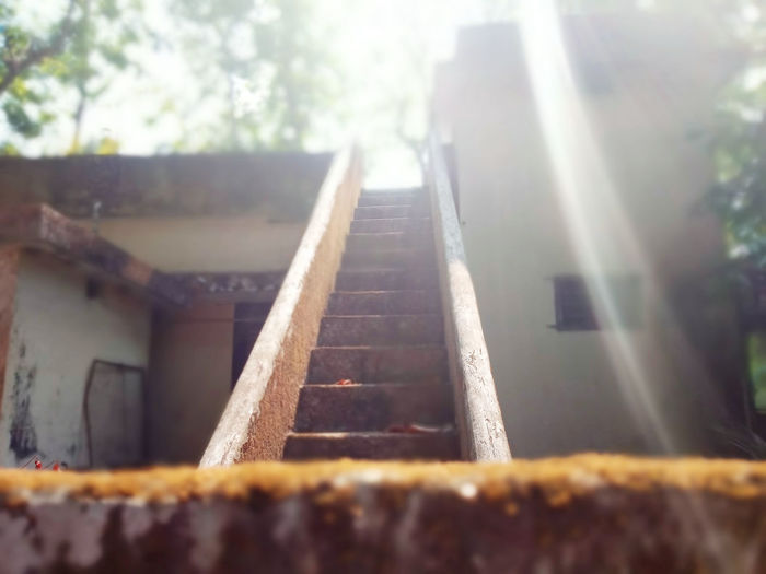 Awake Enlightenment Nature Oldbackyard Stairs Trip Trippy! Unforgettable Moment Vaikom Abonded Buildings Abondened Places Alonewithmythoughts Daylight Photography Godlight Goofy House Kerala India Kerala The Gods Own Country ;) Light And Shadow Lostintravel Neighborhood Oldhouses Outdoors Solotraveler Stairs To Heaven First Eyeem Photo