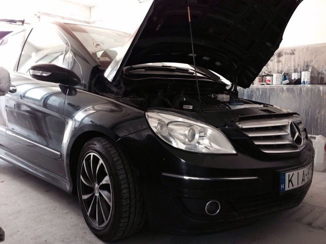 Car Mercedes Work Paintshop