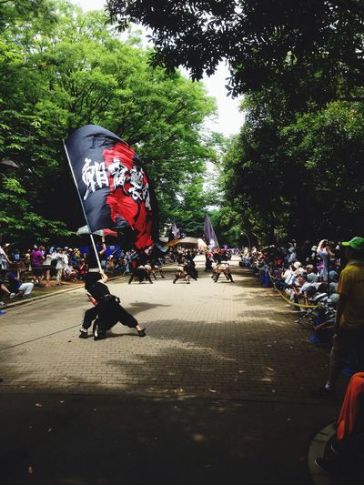 Japan Festival Yasakoi in nearby park