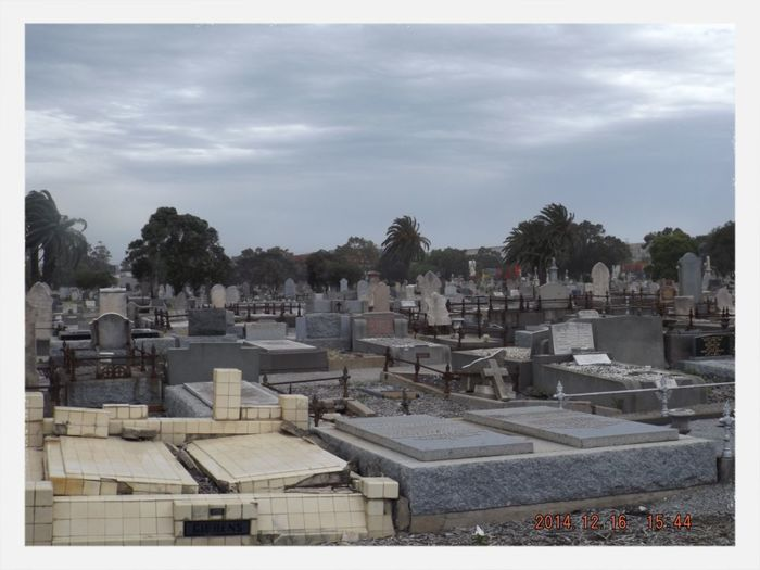 The Purist (no Edit, No Filter) Cemetery