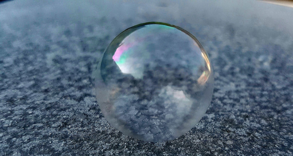 Close-up of bubble