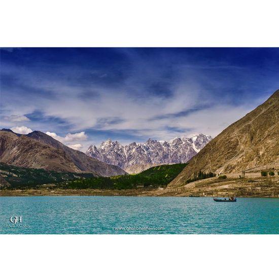 Attabad Lake Lake Water Valley Nagar Pakistan Beautifulpakistan