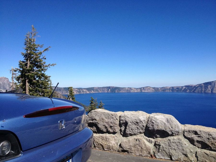 EyeEm Selects Crater Lake Crater Lake National Park Honda S2000 Convertible