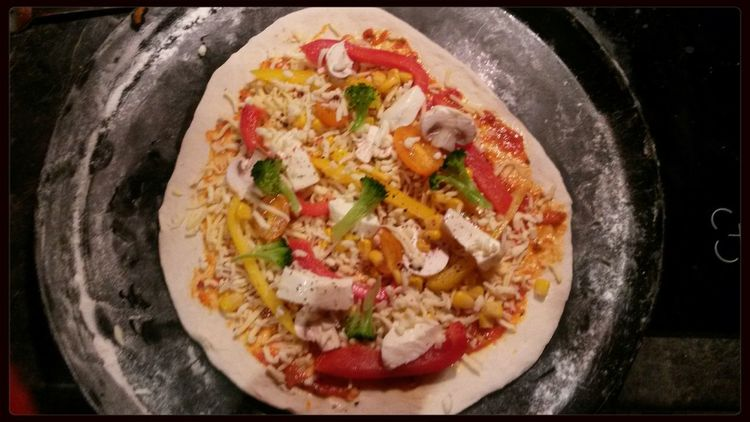 Cooking Pizza <3 for Dinner