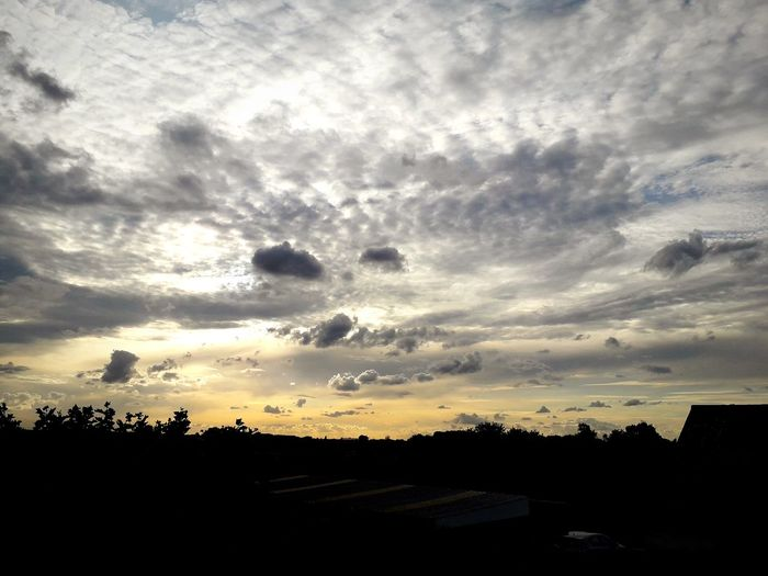 Sunset Clouds Sun Outdoors Nature Europe Evening Dawn Light Light And Shadow Colorful Sky Colors Summer Tree Sunset Silhouette Sky Cloud - Sky Sky Only Cumulus Cumulus Cloud Dramatic Sky HUAWEI Photo Award: After Dark
