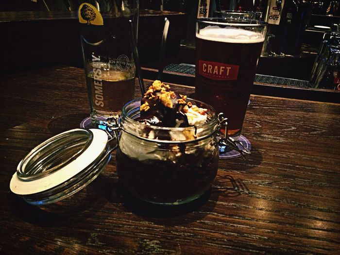 Dessert and Beer all a girl needs ❤️ Vancouver Craft Beer