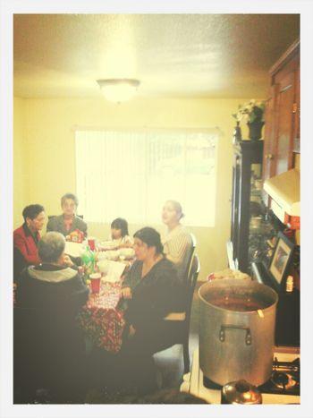 Christmas Menudo with the Family