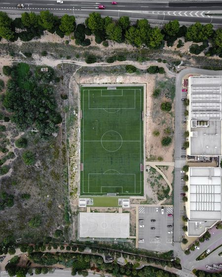Drone  Mallorca SPAIN Abandoned Architecture Building Exterior Built Structure Day Grass Green Color Growth Nature No People Outdoors Plant