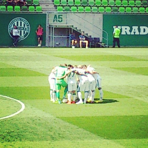 Ferencváros Fradi FTC  Hajrafradi Ftcdvtk Match Football Mennyei Telekomfradi Zöldfehér Groupamaarena