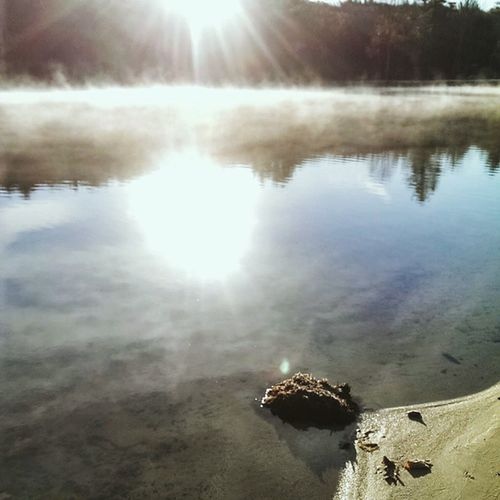 I was going through my phone and found this beauty. Vscocam Bestofvscso Topvsco Vscoism relaxing reflection water photooftheday suggestionpage puddlegram sun vscogod fog