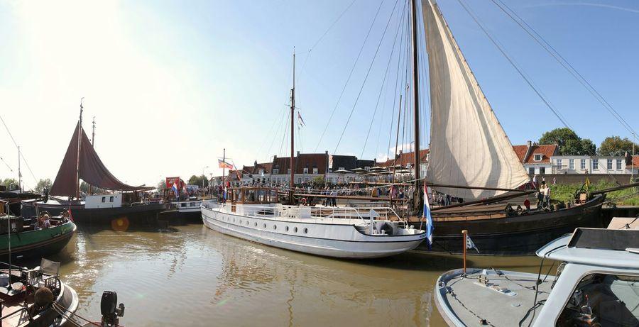 Wijk Bij Duurstede Rijn De Lek Holland Lekkodagen Sailboat Sailing