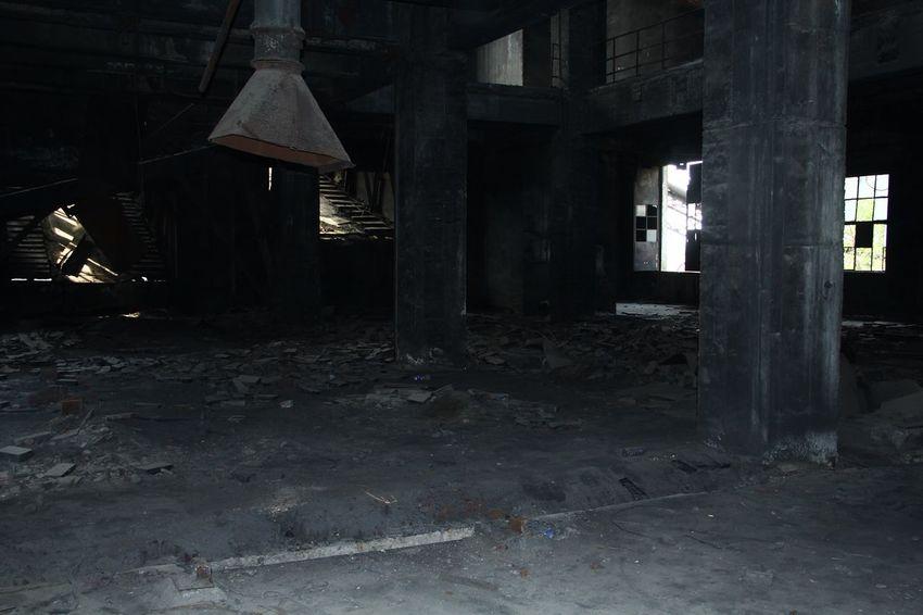 Black workshop Old Time & Abondoned Factory